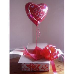 коробка сюрприз! сердце + большой бант