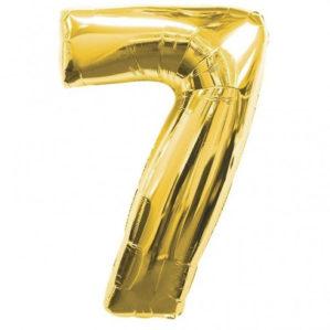 """Золотая цифра """"7"""""""