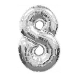 "Серебряная цифра ""8"""